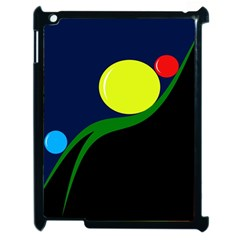 Falling  Ball Apple Ipad 2 Case (black) by Valentinaart