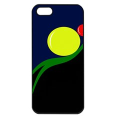 Falling  Ball Apple Iphone 5 Seamless Case (black) by Valentinaart
