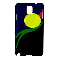 Falling  Ball Samsung Galaxy Note 3 N9005 Hardshell Case by Valentinaart
