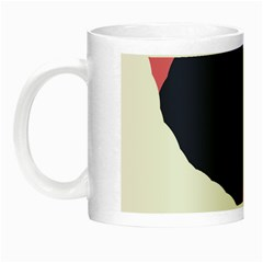 Beautiful Abstraction Night Luminous Mugs by Valentinaart