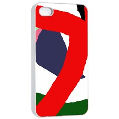 Beautiful Abstraction Apple Iphone 4/4s Seamless Case (white) by Valentinaart