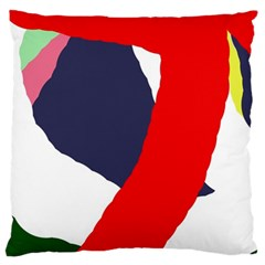 Beautiful Abstraction Large Cushion Case (two Sides) by Valentinaart