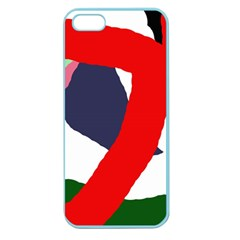 Beautiful Abstraction Apple Seamless Iphone 5 Case (color) by Valentinaart