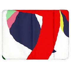 Beautiful Abstraction Samsung Galaxy Tab 7  P1000 Flip Case by Valentinaart