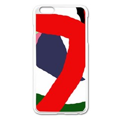 Beautiful Abstraction Apple Iphone 6 Plus/6s Plus Enamel White Case by Valentinaart