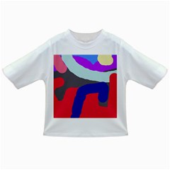 Crazy Abstraction Infant/toddler T-shirts by Valentinaart