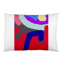 Crazy Abstraction Pillow Case by Valentinaart