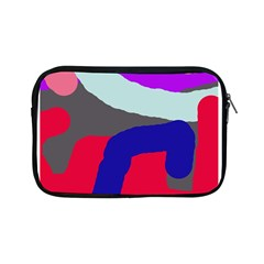 Crazy Abstraction Apple Ipad Mini Zipper Cases by Valentinaart