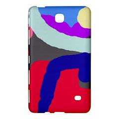Crazy Abstraction Samsung Galaxy Tab 4 (8 ) Hardshell Case  by Valentinaart