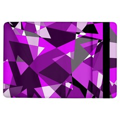 Purple Broken Glass Ipad Air Flip by Valentinaart