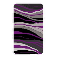 Purple And Gray Decorative Design Memory Card Reader by Valentinaart
