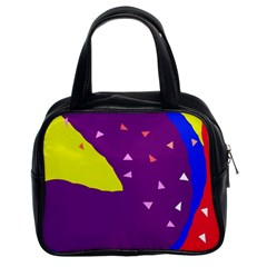 Optimistic Abstraction Classic Handbags (2 Sides)