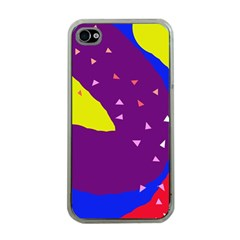 Optimistic Abstraction Apple Iphone 4 Case (clear) by Valentinaart