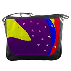 Optimistic Abstraction Messenger Bags by Valentinaart