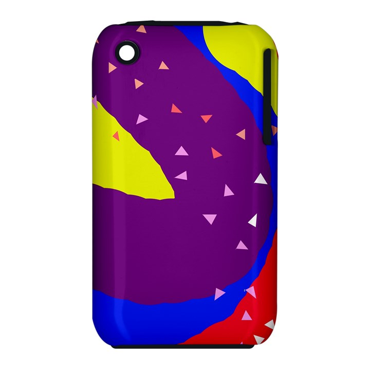Optimistic abstraction Apple iPhone 3G/3GS Hardshell Case (PC+Silicone)