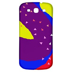 Optimistic Abstraction Samsung Galaxy S3 S Iii Classic Hardshell Back Case by Valentinaart