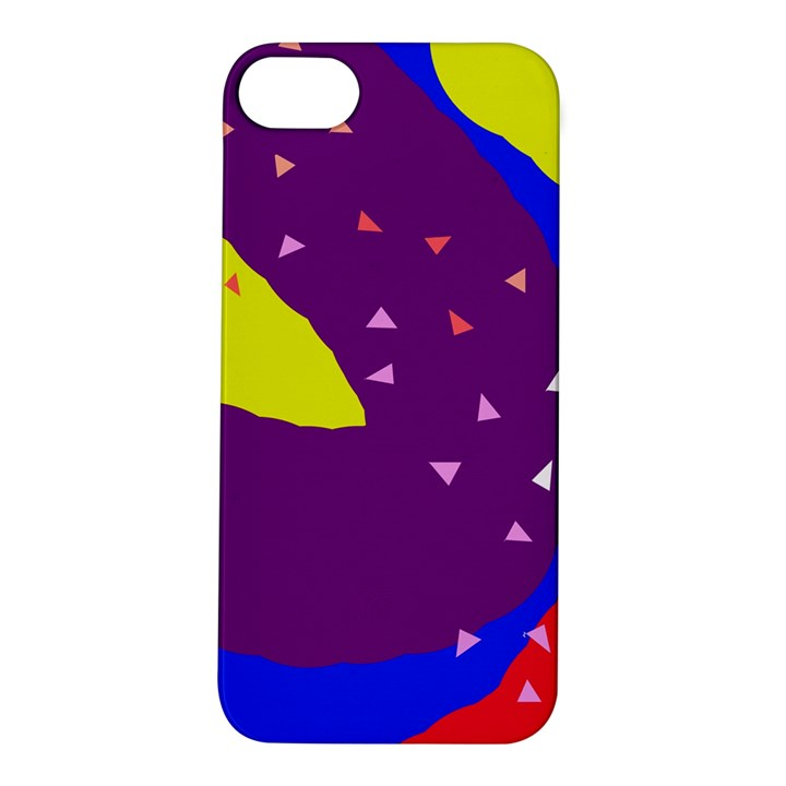 Optimistic abstraction Apple iPhone 5S/ SE Hardshell Case