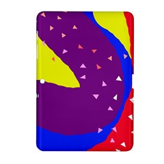 Optimistic Abstraction Samsung Galaxy Tab 2 (10 1 ) P5100 Hardshell Case  by Valentinaart