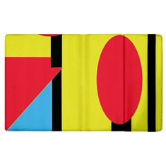Abstract Landscape Apple Ipad 3/4 Flip Case by Valentinaart