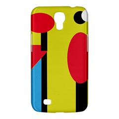 Abstract Landscape Samsung Galaxy Mega 6 3  I9200 Hardshell Case by Valentinaart