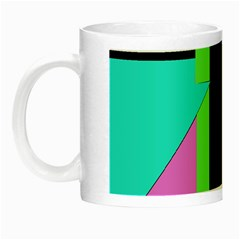 Abstract Landscape Night Luminous Mugs