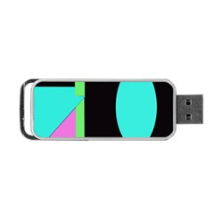 Abstract Landscape Portable Usb Flash (one Side)