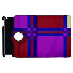 Deorative Design Apple Ipad 2 Flip 360 Case by Valentinaart