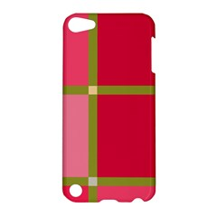 Red And Green Apple Ipod Touch 5 Hardshell Case by Valentinaart