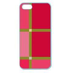 Red And Green Apple Seamless Iphone 5 Case (color) by Valentinaart