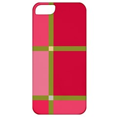 Red And Green Apple Iphone 5 Classic Hardshell Case by Valentinaart