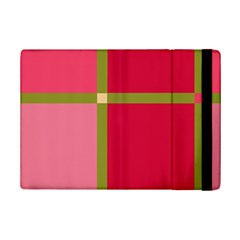 Red And Green Ipad Mini 2 Flip Cases by Valentinaart