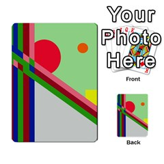 Decorative Abstraction Multi-purpose Cards (rectangle)
