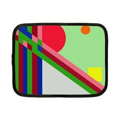 Decorative Abstraction Netbook Case (small)  by Valentinaart
