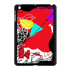 Colorful Abstraction Apple Ipad Mini Case (black) by Valentinaart