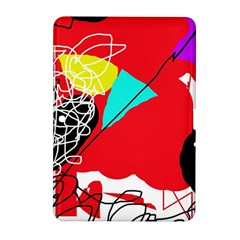 Colorful Abstraction Samsung Galaxy Tab 2 (10 1 ) P5100 Hardshell Case  by Valentinaart