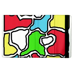 Colorful Abtraction Apple Ipad 2 Flip Case by Valentinaart