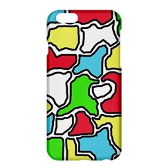 Colorful Abtraction Apple Iphone 6 Plus/6s Plus Hardshell Case by Valentinaart