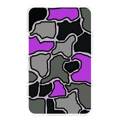 Purple And Gray Abstraction Memory Card Reader by Valentinaart