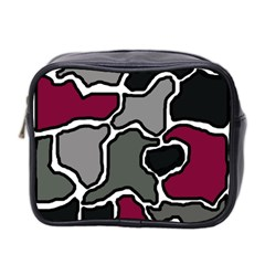 Decorative Abstraction Mini Toiletries Bag 2 Side by Valentinaart