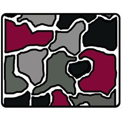 Decorative Abstraction Fleece Blanket (medium)