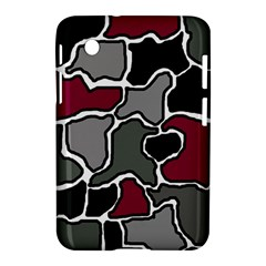 Decorative Abstraction Samsung Galaxy Tab 2 (7 ) P3100 Hardshell Case  by Valentinaart