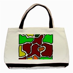 Africa Abstraction Basic Tote Bag (two Sides) by Valentinaart