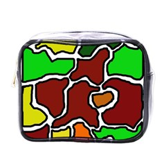 Africa Abstraction Mini Toiletries Bags by Valentinaart