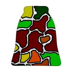 Africa Abstraction Bell Ornament (2 Sides) by Valentinaart