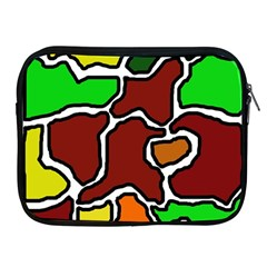 Africa Abstraction Apple Ipad 2/3/4 Zipper Cases