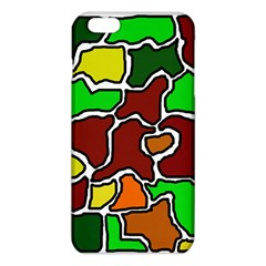 Africa Abstraction Iphone 6 Plus/6s Plus Tpu Case by Valentinaart