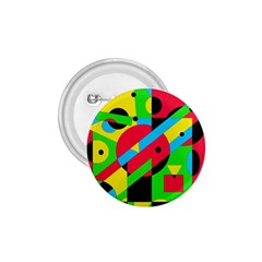 Colorful Geometrical Abstraction 1 75  Buttons by Valentinaart