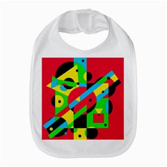 Colorful Geometrical Abstraction Bib by Valentinaart