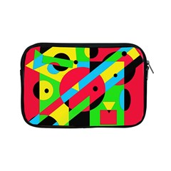 Colorful Geometrical Abstraction Apple Ipad Mini Zipper Cases by Valentinaart