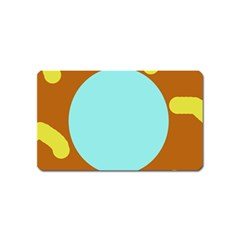 Abstract Sun Magnet (name Card) by Valentinaart